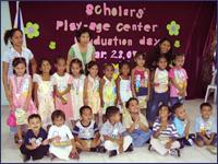 カパティでは幼児教育にも力を入れています:幼稚園の様子